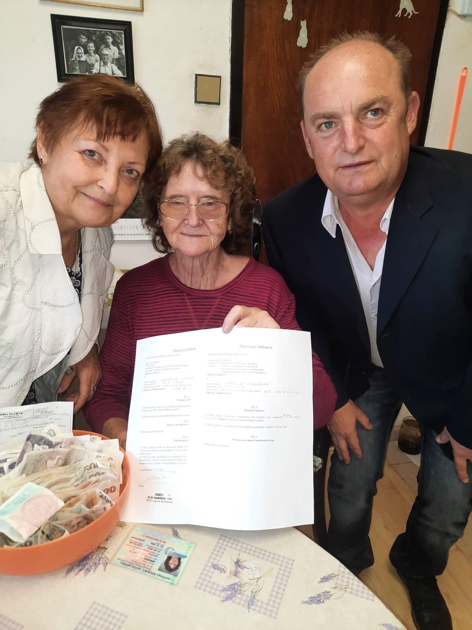 Read more about the article Tornádo – Pomoc pro Moravu, obec Lužice